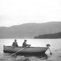 Fishing at Dores Bay