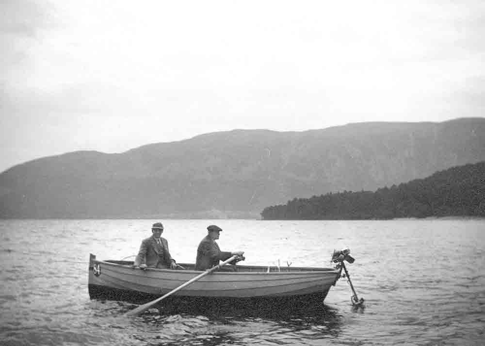 Fishing at Dores Bay