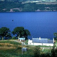 Oakland and Post Office Inverfarigaig 1968. Photograph courtesy of Roger Creegan