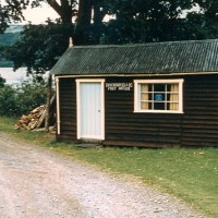 Inverfariag Post Office  1966 .  Photograph courtesy of Roger Creegan