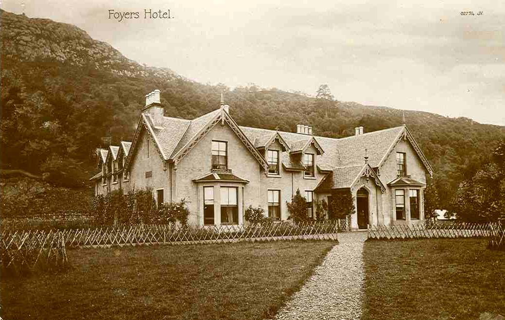 Foyer House Loch Ness : Foyers hotel the south loch ness heritage group
