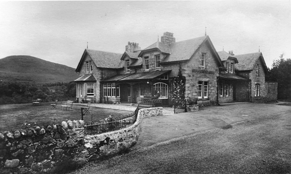Whitebridge Hotel c1930 Photograph courtesy of Alister Chisholm