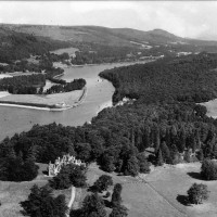 Aldourie & Bona  c 1947    Photograph courtesy of Iain Cameron.