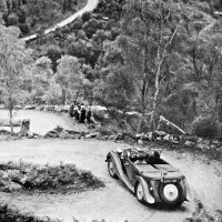 Inverfarigaig Corkscrew  Motorcar Club Trial c1925   Photograph courtesy of John Fraser