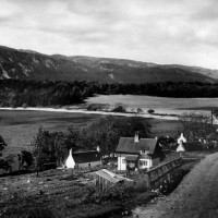 Dores from A862 Stratherrick Road South c1937