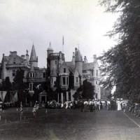 Aldourie Castle, Queen Victoria Diamond Jubilee June 1897   Photograph courtesy of Iain Cameron.