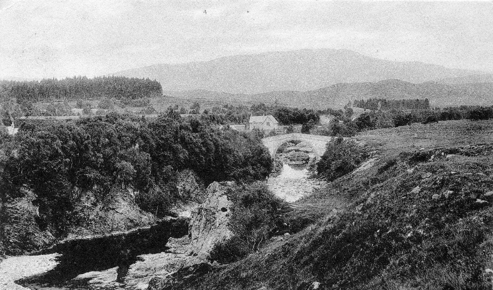 Wades Bridge Whitebridge c1920 Photograph courtesy of Alister Chisholm