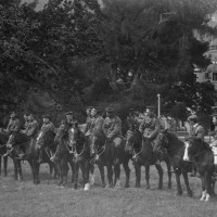 Lovat Scouts  at Aldourie Castle 1913 Photograph courtesy of Ian Cameron