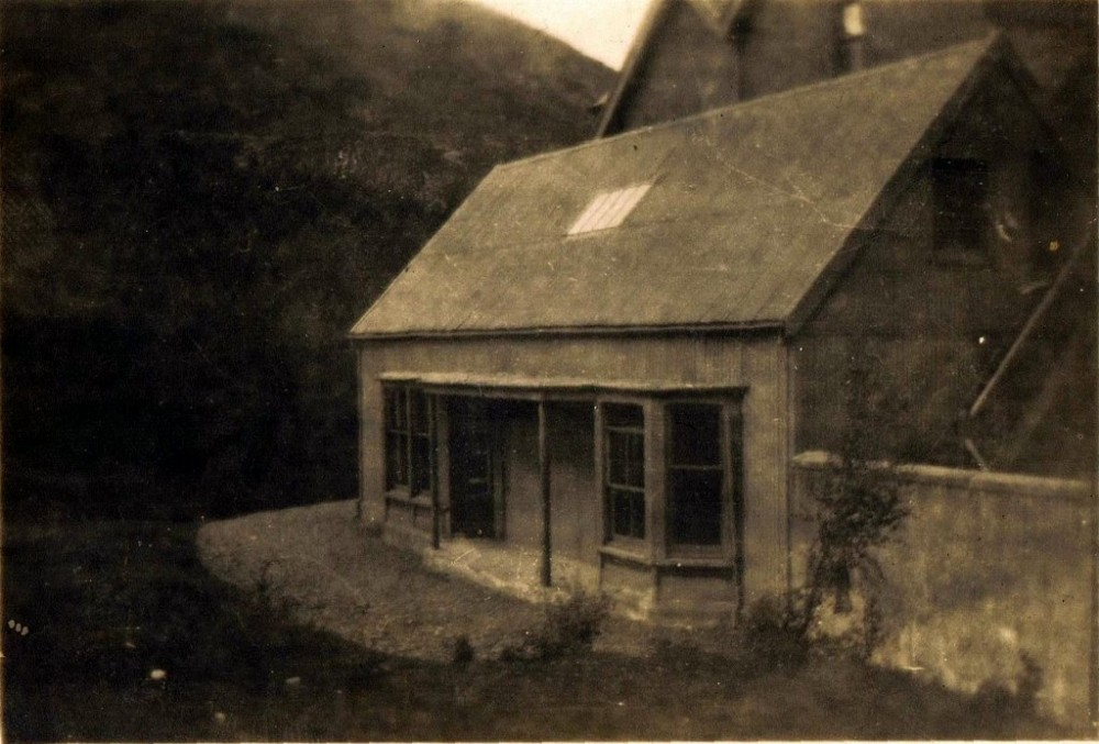 Stronelarig Lodge  Annex as it was in 1922 Photograph courtesy of Val Fittall