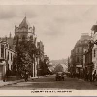 Academy Street Inverness  1914