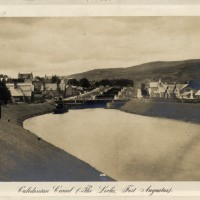 Caledonian Canal Locks Fort Augustus