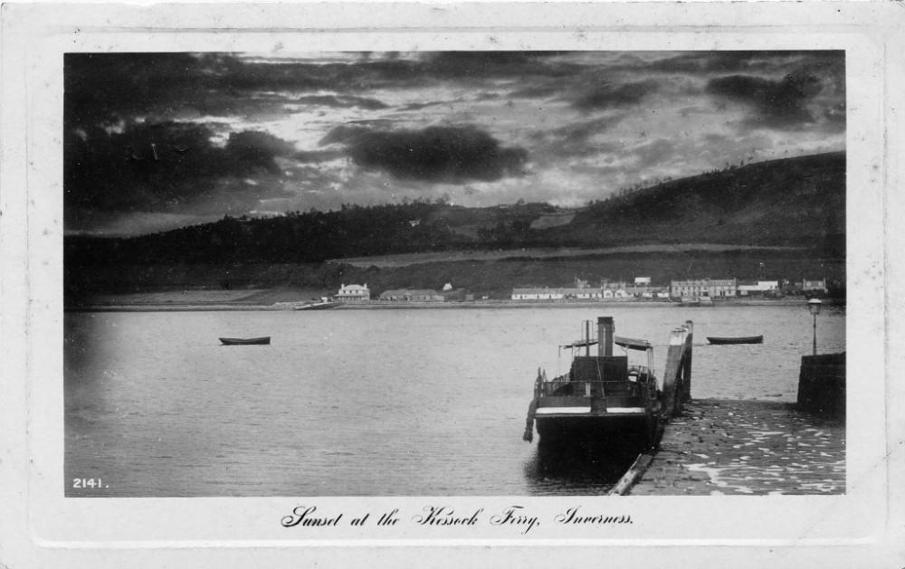 Kessock Ferry  Inverness 1911