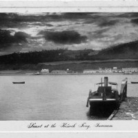 Kessock Ferry  Inverness 1911