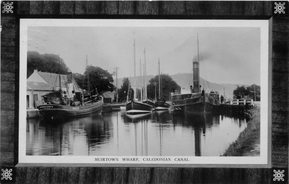 Muirtown Wharf Caledonian Canal Inverness 1911