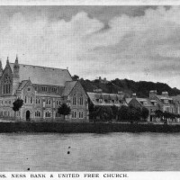Ness Bank & United Free Church Inverness 1911