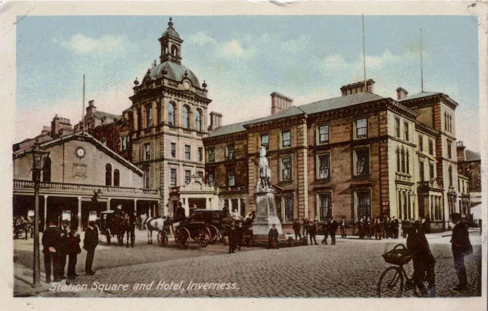 Station Square Inverness
