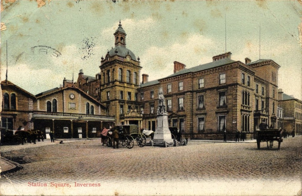 Station Square Inverness 1913
