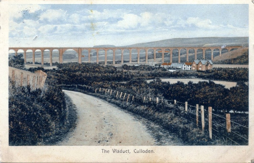 The Viaduct Culloden 1912