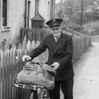 Jock Scott, local Foyers postie  Photograph courtesy of Ala Macgruer