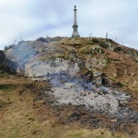 4 April Gorse Ashes. Photograph courtesy of Alister Chisholm