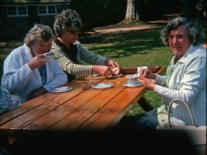 Stratherrick Slimmers Group outing to Cawder Castle 1985