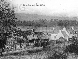Dores Inn  and Post Office .