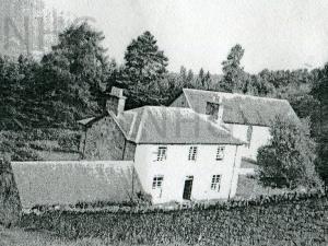 Dores Free Church & Manse c1952