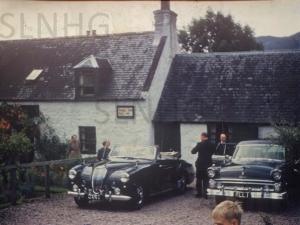 Royal visit to Dores Inn c 1967.