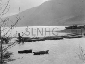 Bona Pontoon Bridge  c1943  WW2