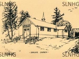 Errogie Church of Scotland drawing