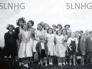 Sunday School Picnic June 1951