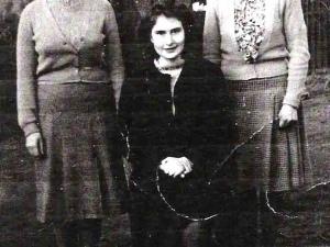 Foyers School staff, 1948 or 1949.