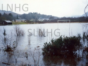 Factory field flooded 1989.