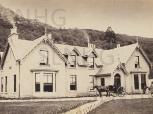 The Foyers Hotel in the early nineteen hundreds.