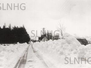 Ballochan Snowstorm Feb 1955