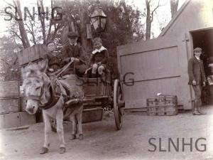 Lyne Delivery Boys c1910 .