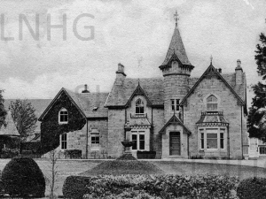Wester Aberhalder Mansion House c1930
