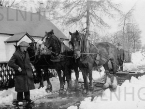 Laracks Snowplough, Lyne of Gorthleck  c1928