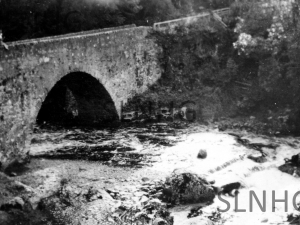 The Wade Bridge at Inverfarigaig 1935