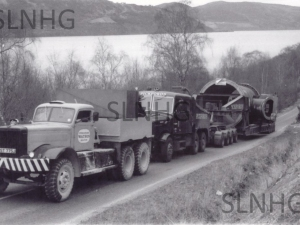 Delivery of Main Valve to Foyers Power Station 1972