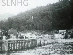 Inverfarigaig Pier taken around 1903 ,