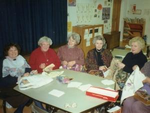 Jean Dodgens sewing class C1990