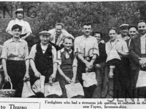 Foyers Firefighters 1949