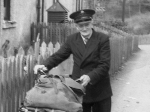Jock Scott, local Foyers postie