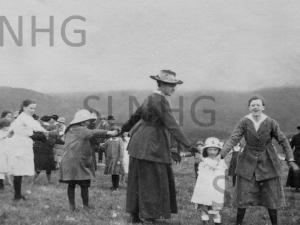 Peace Treat July 1919 at  Dalcrag farm.