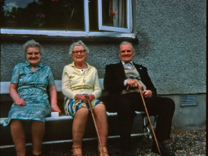 Mrs Kate Hunter ,Miss Polly Fraser & Tommy Cooper (The Doc)