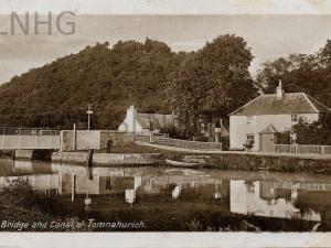 Bridge & Canal Tomnahurich 1913