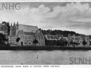 Ness Bank & United Free Church 1911