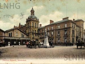 Station Square Inverness 1913