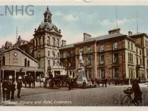 Station Square, Inverness.
